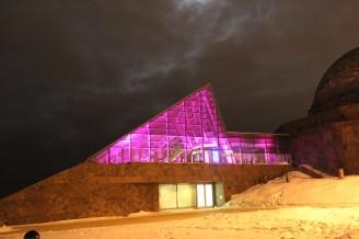 Adler Planetarium Lighting from Outside