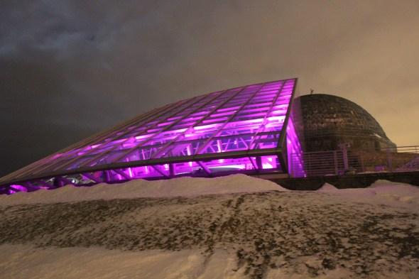 Adler Planetarium Lighting