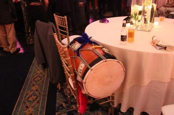 Traditional Dhol at the Ashyana Banquets Wedding
