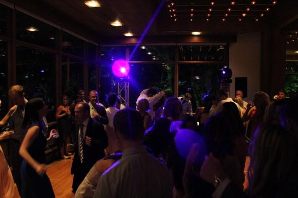 Chicago Wedding DJ at the Oak Brook Hyatt Lodge Wedding