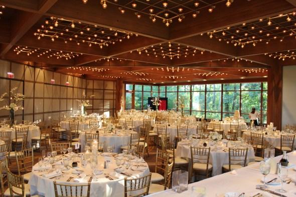 The beautiful Oak Brook Hyatt Lodge Wedding