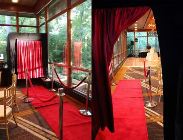 VIP Photo Booth at the Oak Brook Hyatt Lodge