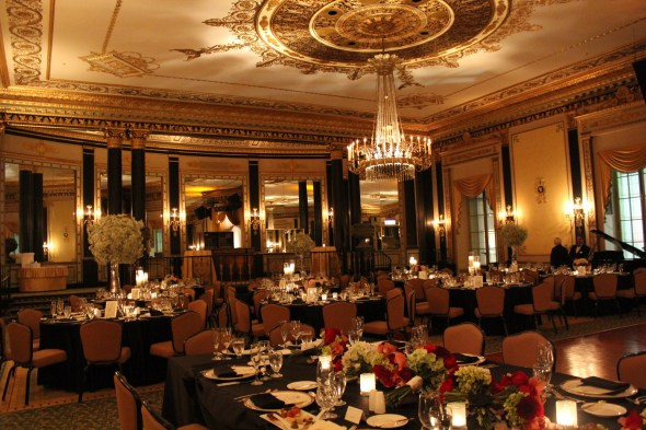 The Ballroom at the Palmer House Wedding