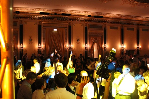 Dancing at the Palmer House Wedding