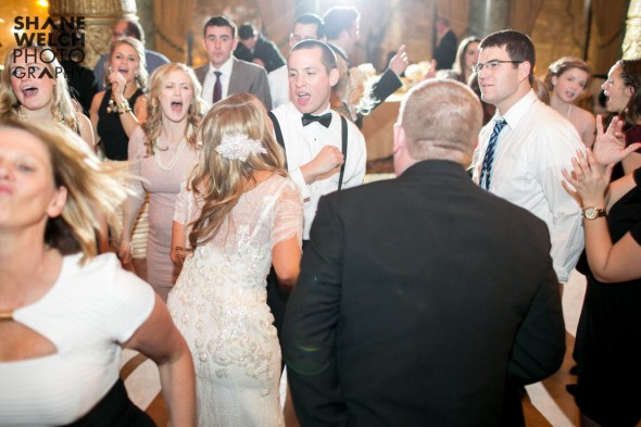 Bride and Groom Dancing at Their Drake Hotel Wedding 2