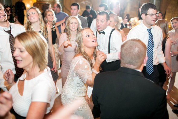 Bride and Groom Dancing at Their Drake Hotel Wedding