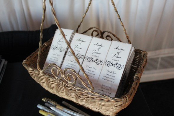 Photo Booth Favors at Westin Itasca Wedding