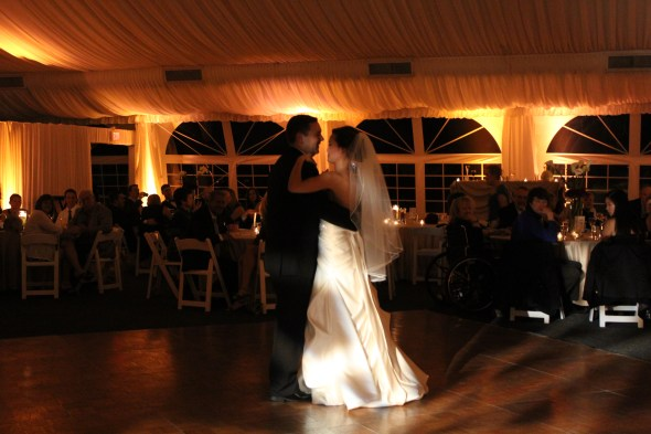 First Dance at Westin Itasca wedding