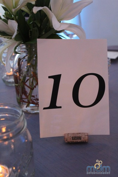 Wine Cork Table Number Holder at Room 1520