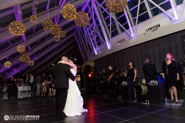 Kristen and Brians First Dance at Adler Wedding 2