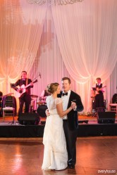 First Dance at Hotel Intercontinental Wedding
