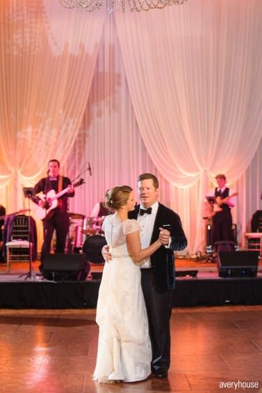 First Dance at Hotel Intercontinental Wedding