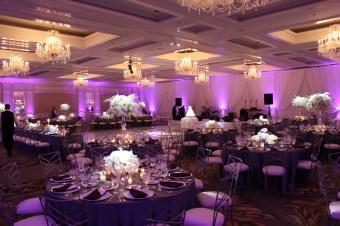 Four Seasons Chicago Wedding Lighting
