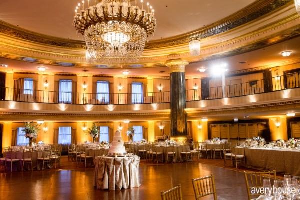 Hotel Intercontinental Chicago Wedding Lighting