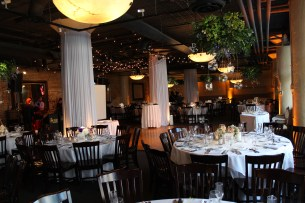 Lighting for a River Roast Wedding