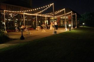 Oak Brook Bath and Tennis Club Wedding Lighting