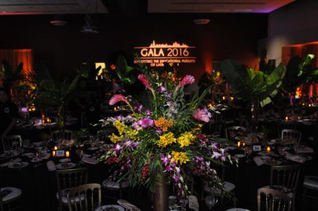 Drape and Lighting for Latino Caucus Gala at 399 Banquets 2