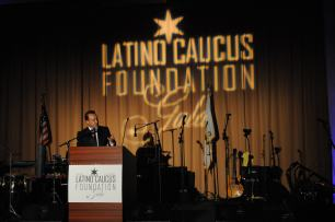 Drape and Lighting for Latino Caucus Gala at 399 Banquets 3