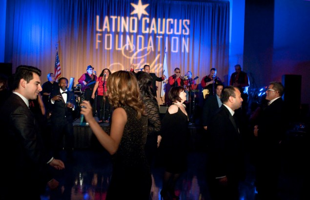 Drape and Lighting for Latino Caucus Gala at 399 Banquets 4