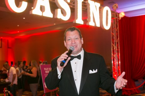 Frank Sinatra Impersonator for a Vegas Themed Corporate Event