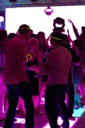 LED Dance Floor for a Corporate Event