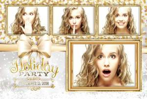 Holiday Sparkle Photo Booth