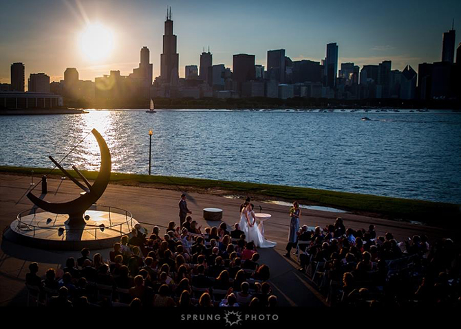 Chicago LGBTQ wedding