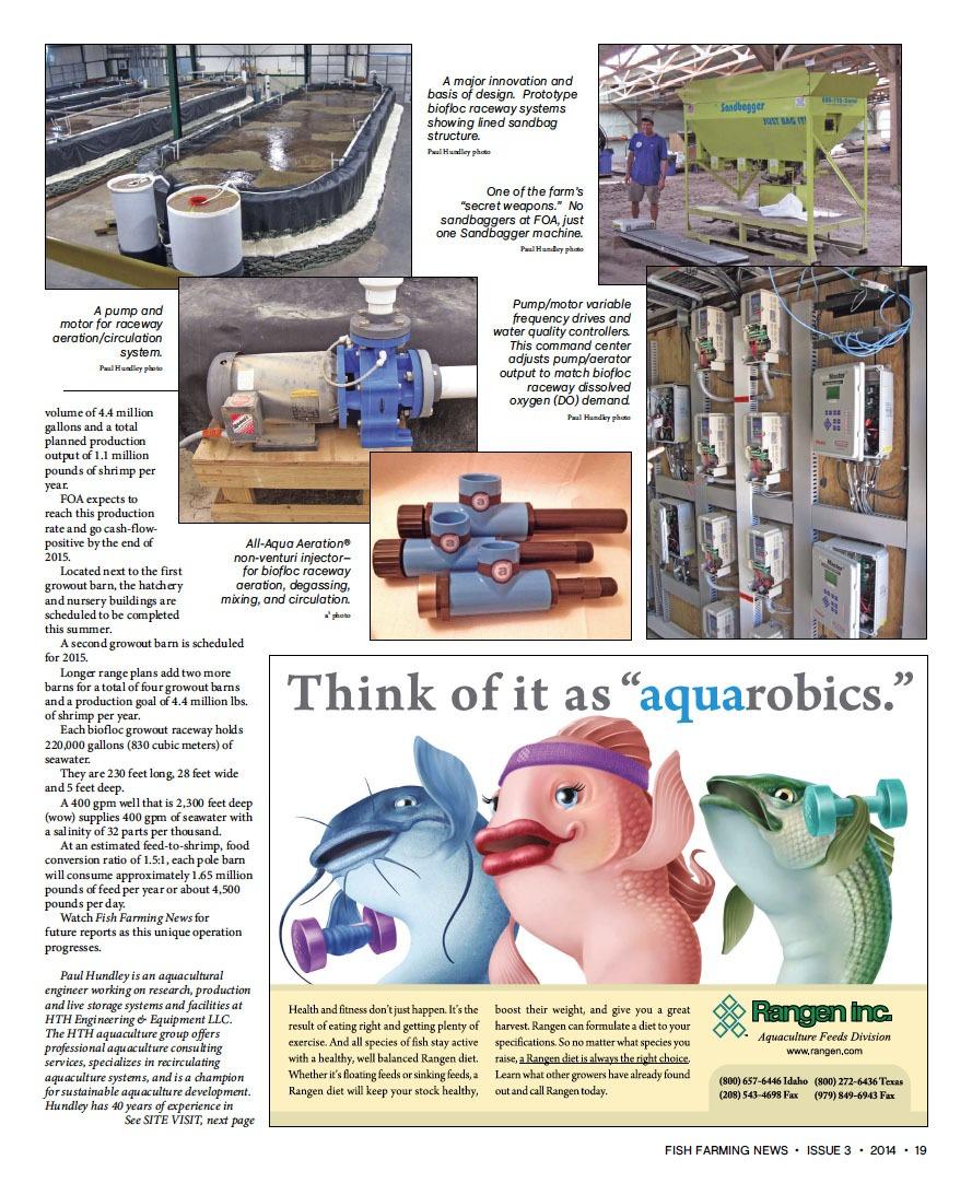 Genesys® Pumps Featured in Fish Farming News | MDM, Inc