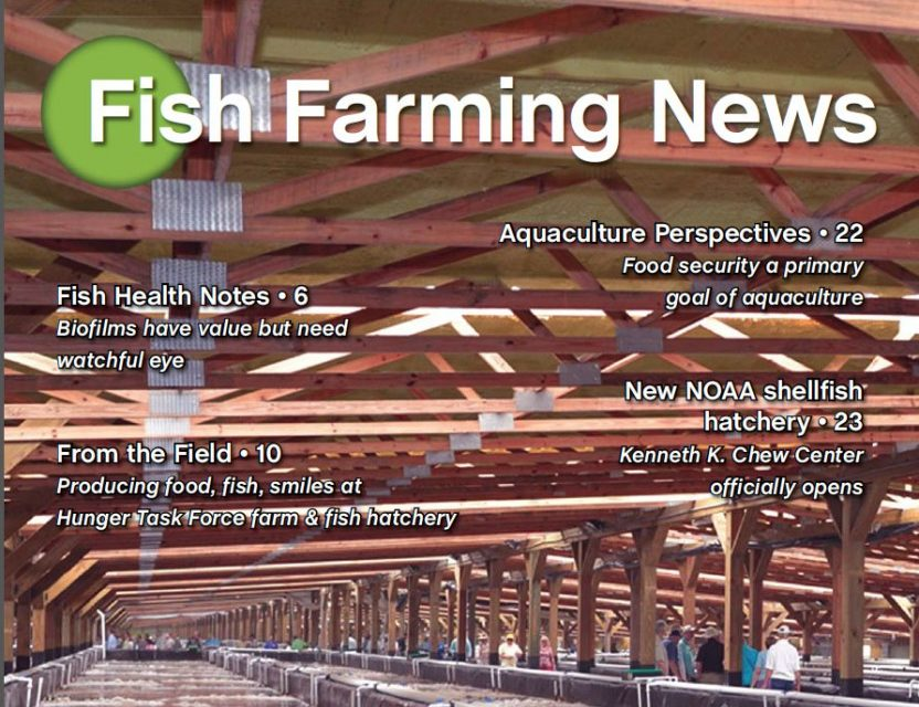 Farming News Magazine cover featuring MDM Pumps