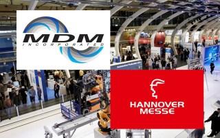 MDM Pumps Hannover Messe banner