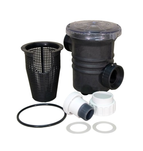Sequence 90 cubic liter 1.5 inch Strainer Basket with components