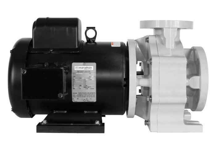 Sequence Titan Pump with black Marathon Motor left side view