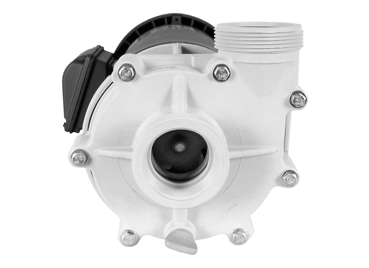 Advance 4000 Pump with black WEG Motor front view