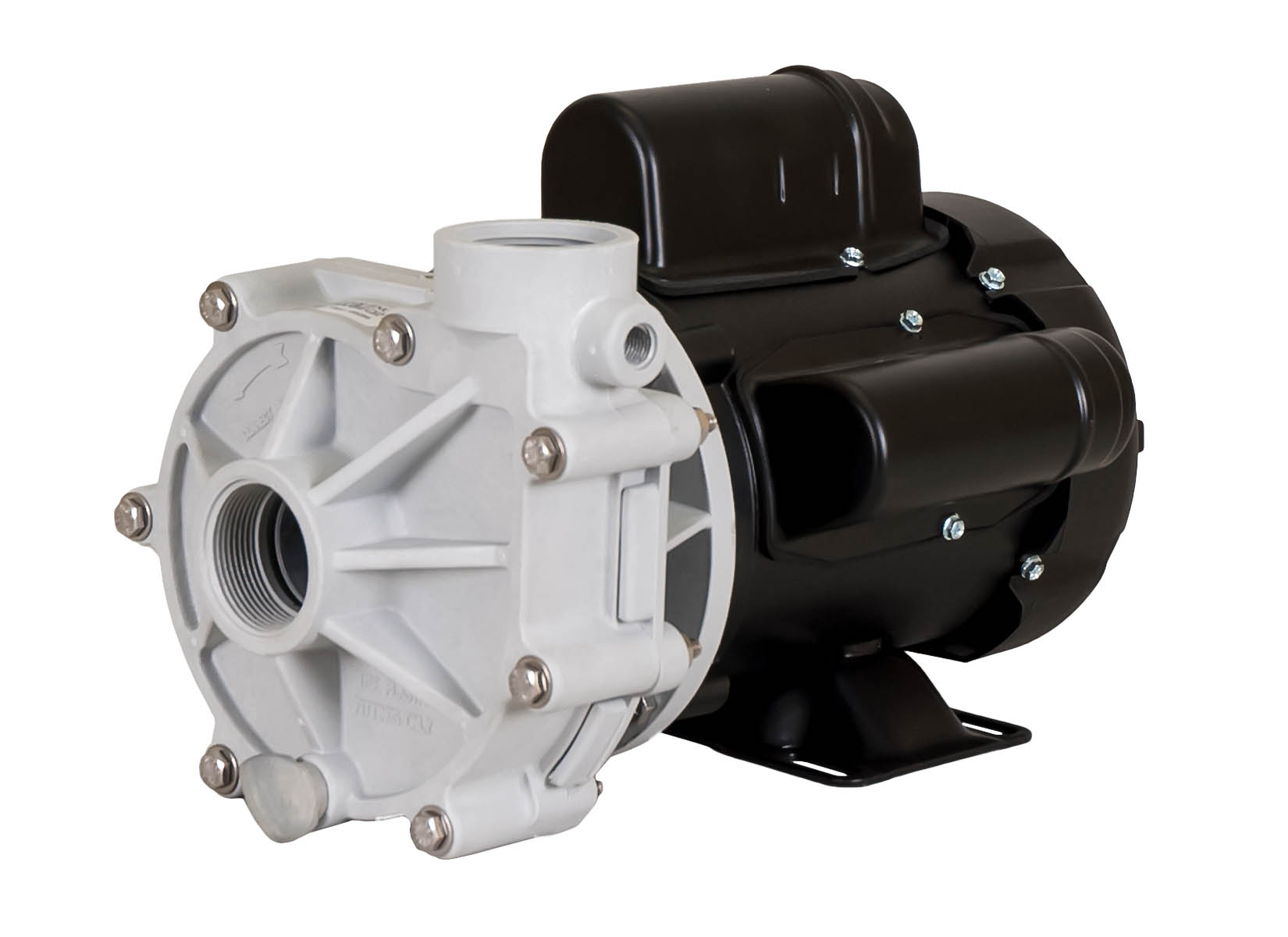Sequence 1000 Pump with black Marathon Motor right angle view