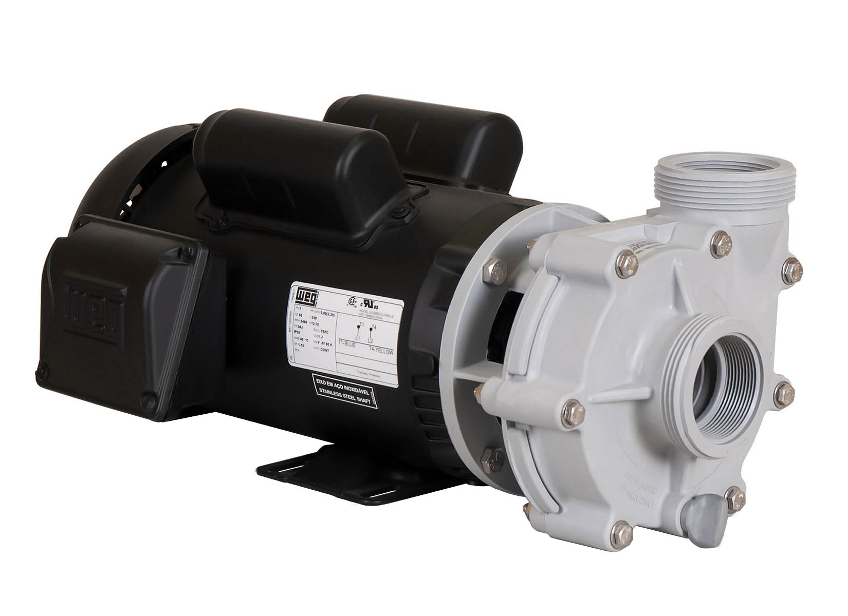 Sequence Power 4000 with black WEG Motor left angle view