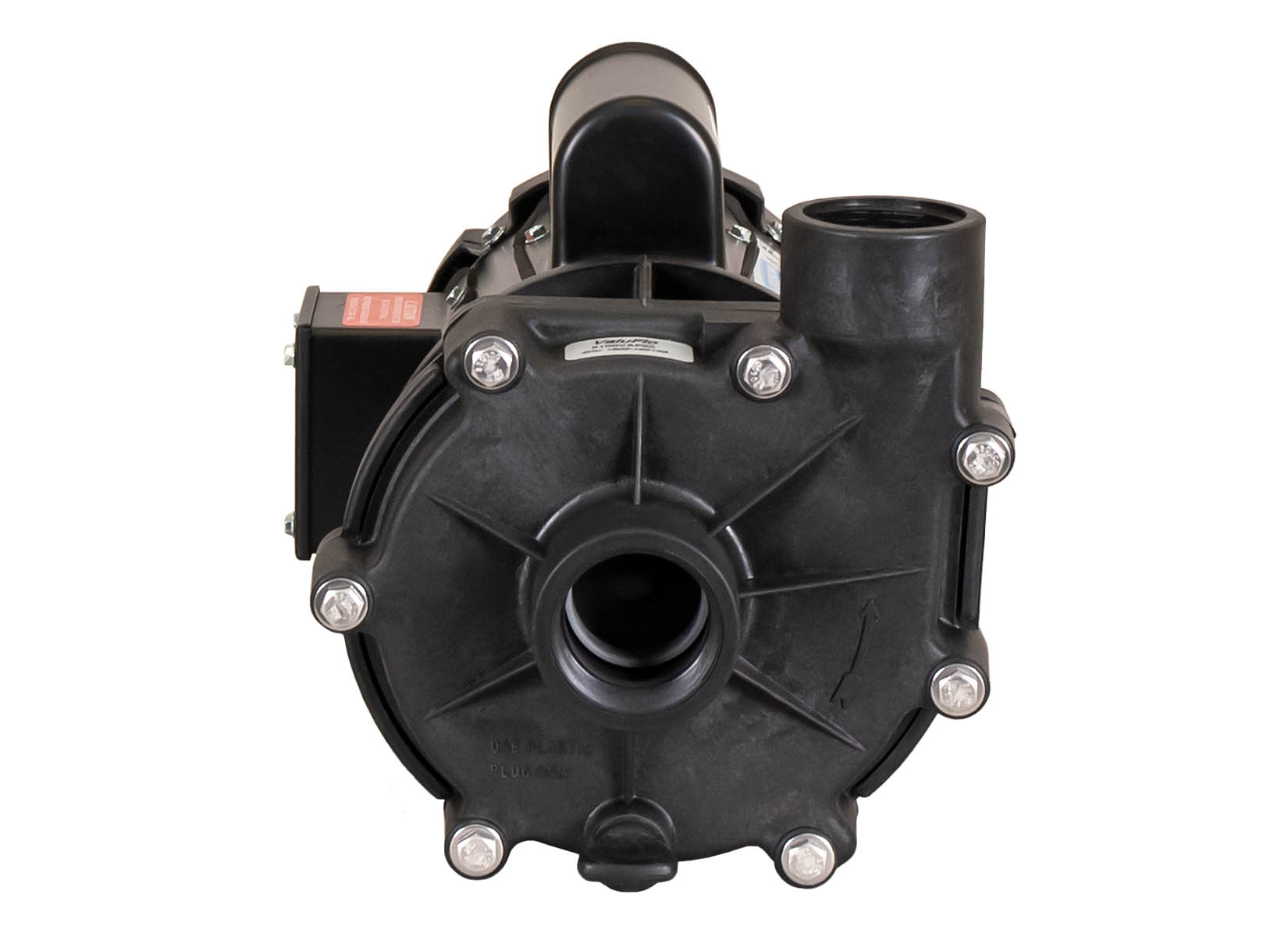 ValuFlo 1000 Pump with Leeson Motor front view