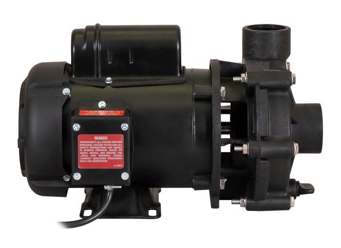 ValuFlo 1000 Pump with Leeson Motor left side view