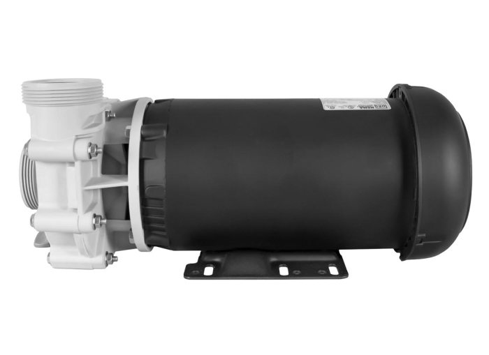 Advance 4000 Pump with black WEG Motor right side view