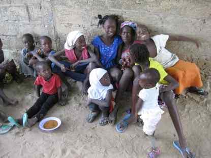Distribution des repas