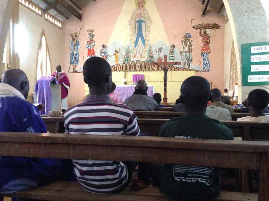 Messe à Ndofane