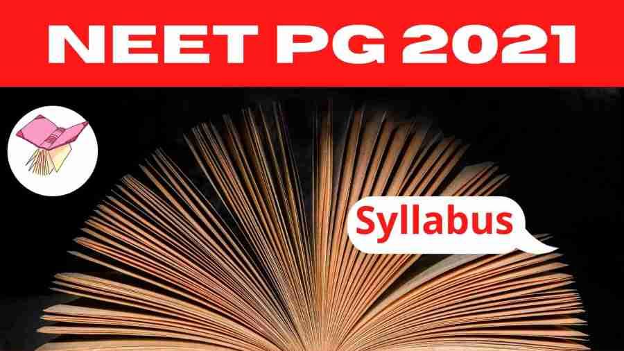 NEET PG Syllabus