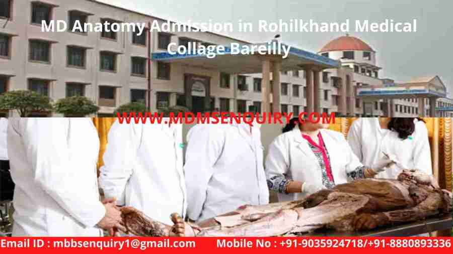MD Anatomy Admission in Rohilkhand Medical Collage Bareilly