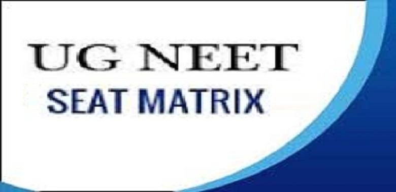 NEET UG Seat Matrix