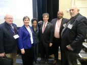 Meeting with Representative Raskin (center)