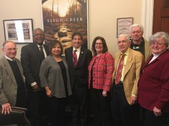 Congressman Jamie Raskin with District 8 Delegates