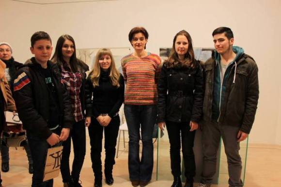 """Тези деца са от Труд, запознахме се на премиерата на """"Чисти стихотворения в Пловдив. Може пак да се видим в петък."""