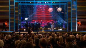 Kennedy Center Honors 2019 broadcast graphics, new screens graphics, performance content