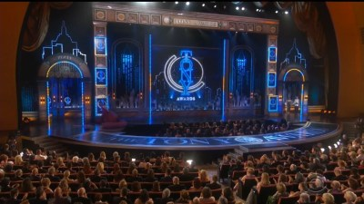 73rd Tony Awards broadcast and screens graphic packages