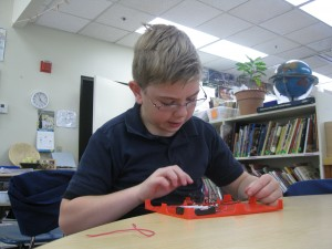 Building a series circuit