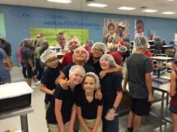 Feed My Starving Children, August 2015